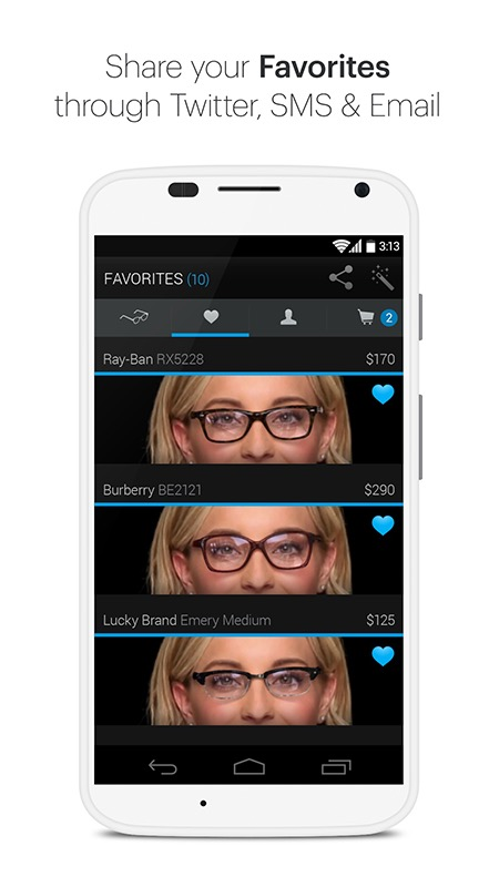 Glasses.com for Android