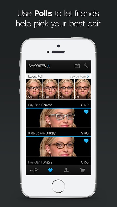 Glasses.com for iPhone